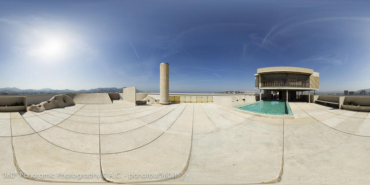 Unit d habitation marsiglia - Le corbusier tetto giardino ...